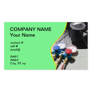 AC maintenance Business Card