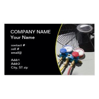 AC maintenance Business Card Template