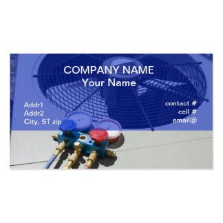 AC maintenance Business Cards