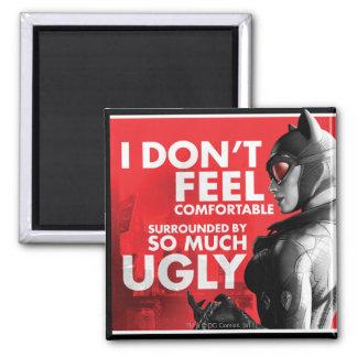 AC Propaganda - Catwoman Uncomfortable Magnet