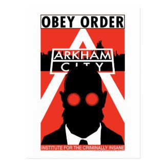 AC Propaganda - Obey Order Postcard