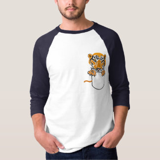 AC- Tigers and Paws in a Pocket Shirt