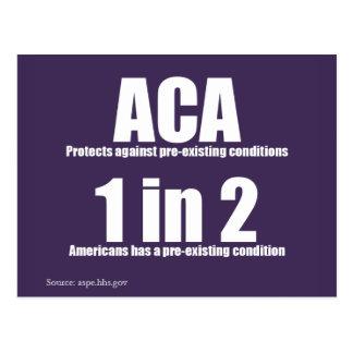 ACA Pre-Existing Condition Postcard