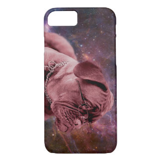 Academic Dog in Space iPhone 7 Case
