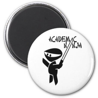 Academic Ninja 2 Inch Round Magnet