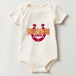Académie de mustang body pour bébé