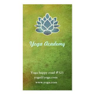 Académie de yoga modèle de carte de visite