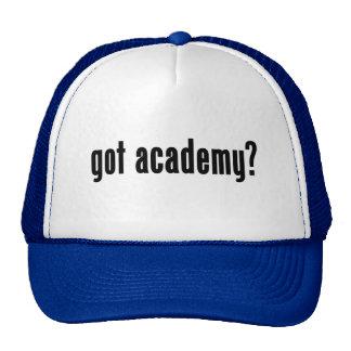 académie obtenue ? casquettes