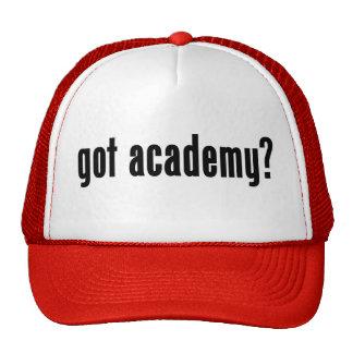académie obtenue ? casquette de camionneur