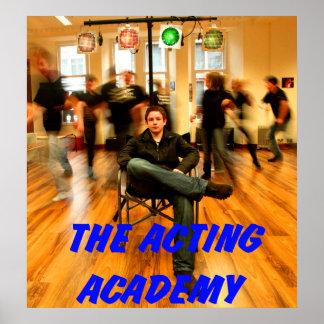 académie temporaire poster