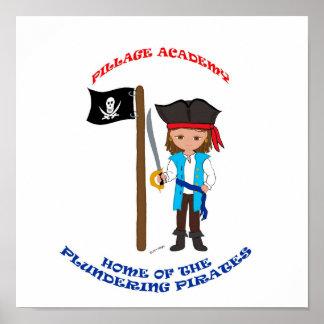 Académie Thaddeus de pillage Posters