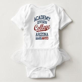 academy division college baby bodysuit