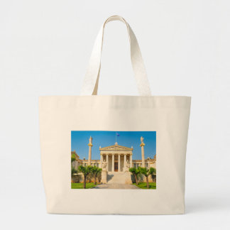 Academy in Athens, Greece Large Tote Bag