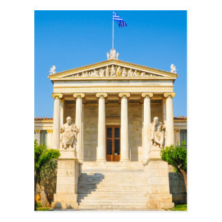 Academy in Athens, Greece Postcard