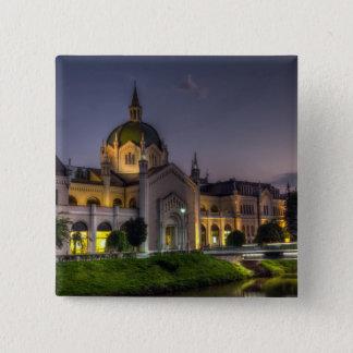 Academy of Fine Arts, Sarajevo, Bosnia and Herzego 2 Inch Square Button