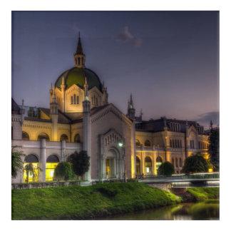 Academy of Fine Arts, Sarajevo, Bosnia and Herzego Acrylic Wall Art