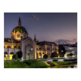 Academy of Fine Arts, Sarajevo, Bosnia and Herzego Postcard