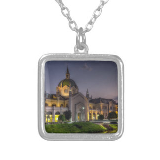 Academy of Fine Arts, Sarajevo, Bosnia and Herzego Silver Plated Necklace
