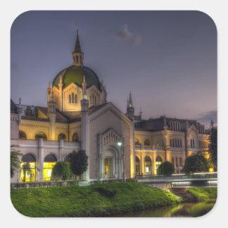 Academy of Fine Arts, Sarajevo, Bosnia and Herzego Square Sticker