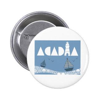 Acadia 2 Inch Round Button