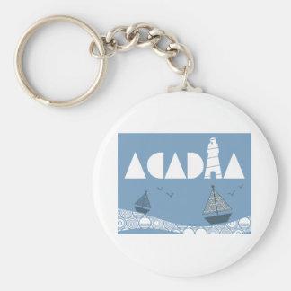 Acadia Keychain