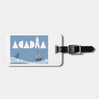 Acadia Luggage Tag