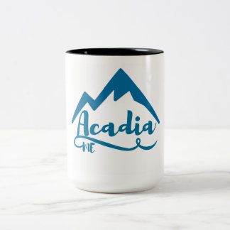 Acadia Maine Two-Tone Coffee Mug