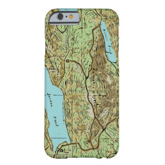 ACADIA MAP BARELY THERE iPhone 6 CASE
