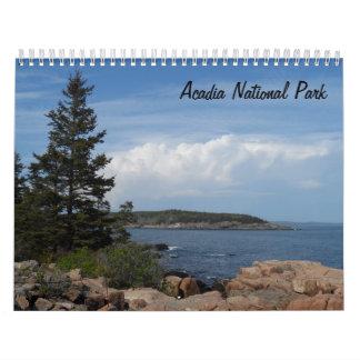 Acadia National Park 2018 Calendar