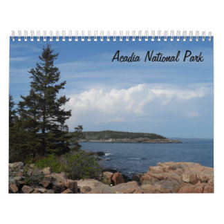 Acadia National Park 2018 Wall Calendars