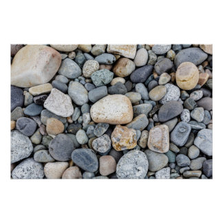 Acadia National Park Beach Rocks Poster