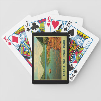 Acadia National Park Bicycle Playing Cards
