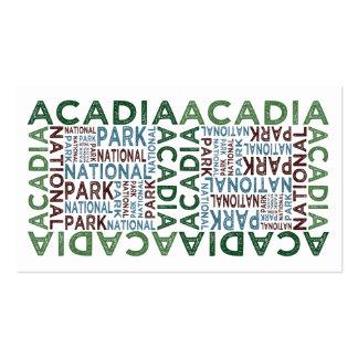Acadia National Park Business Card