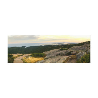 Acadia National Park - Cadillac Mountain Sunset Canvas Print
