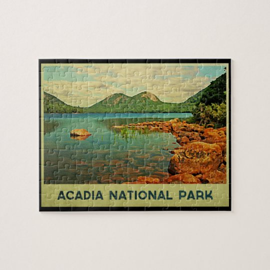 Acadia National Park Jigsaw Puzzle