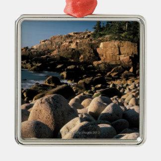 Acadia National Park , Maine Metal Ornament
