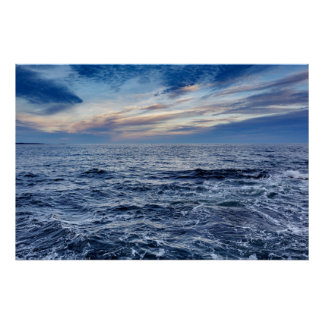 Acadia National Park Maine Seascape Poster