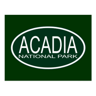 Acadia National Park Postcard