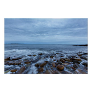 Acadia National Park Rocky Seascape Poster