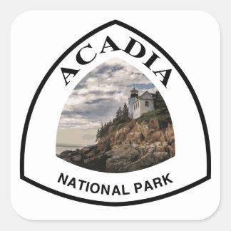 Acadia National Park Square Sticker
