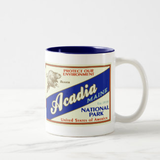 Acadia National Park Two-Tone Coffee Mug