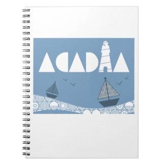 Acadia Notebook