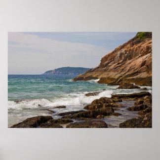 Acadia Shore Poster