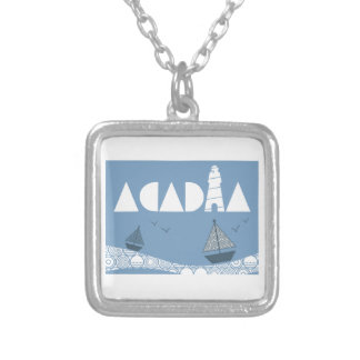 Acadia Silver Plated Necklace