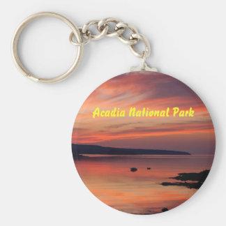 Acadia Sunrise Keychain