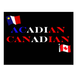 Acadian Canadian Postcard