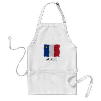 Acadian flag standard apron