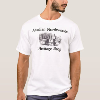 Acadian Northwoods Heritage shop  Sugarin t-shirt