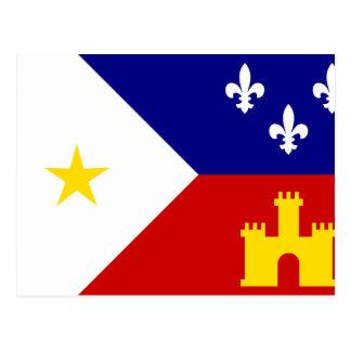 Acadiana, ethnic postcards