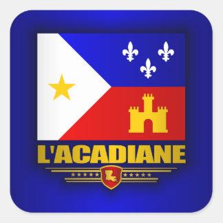 Acadiana Pride Square Sticker